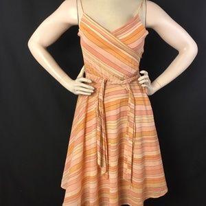 Marc Jacobs Dress Womens Size 6 Peach Pink -SPOT